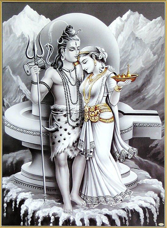 Parvati Shiv and parvati most romantic couple www swapnarajput in. parvati
